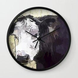 Handsome Heifer Wall Clock