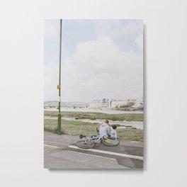 By the Seaside Metal Print