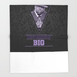 *Notorious BiG* Throw Blanket