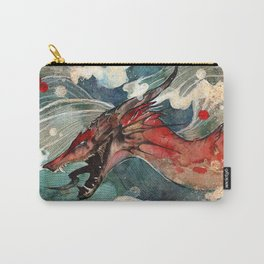 Dragon's Waves Carry-All Pouch