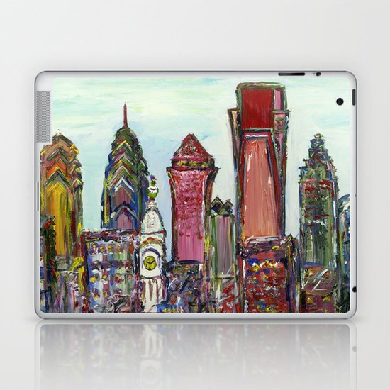 Philadelphia Skyline Laptop & iPad Skin