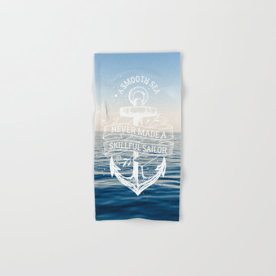Sea Quote Hand & Bath Towel