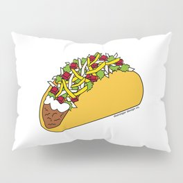 Because Tacos Pillow Sham