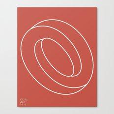 Schleife von Sucht Canvas Print