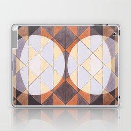Triangles and Circles Pattern no.24 Laptop & iPad Skin