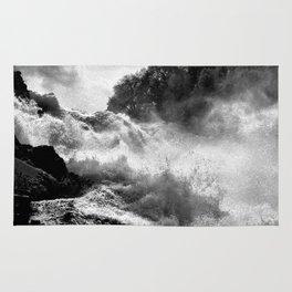 Rhine Falls Schaffhausen BW Rug