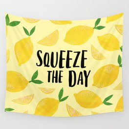 Squeeze the Day Wall Tapestry