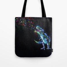 Crystal T-Rex in Space Tote Bag