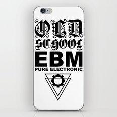 EBM PURE ELECTRONIC iPhone & iPod Skin