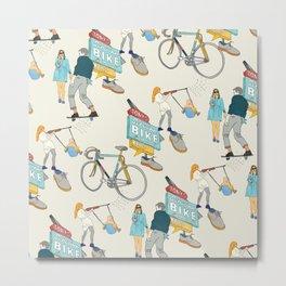 Tonys Bike Shop Metal Print