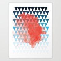 berlin Art Prints featuring Berlin by Menina Lisboa