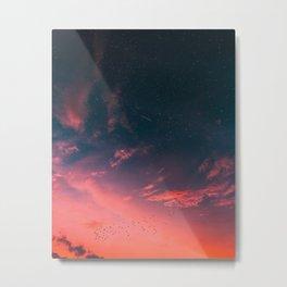Heartbreak Sunset Metal Print