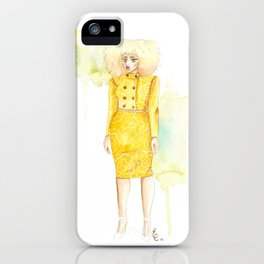 Lemon Limeade iPhone Case