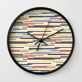 Stroke Wall Clock