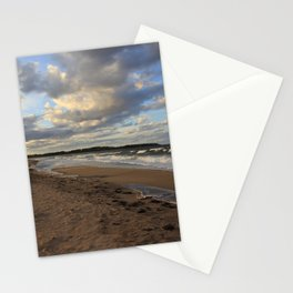 Dark Skies And Sea  -  Photography Stationery Cards