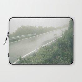 Foggy Incline: Corfu, Greece. Laptop Sleeve