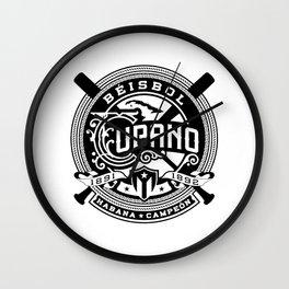 Béisbol Cubano Wall Clock