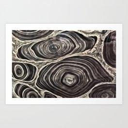 Rock Galaxy Art Print