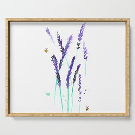 Lavender & Bees Serving Tray