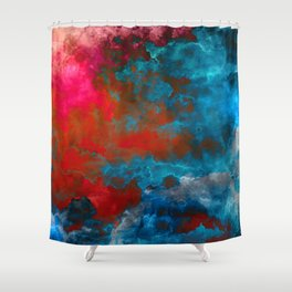 Deep Space Shower Curtain
