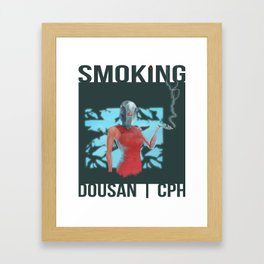 Smoking_02 Framed Art Print