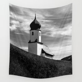 LIGHT AND SHADOW / Bregenz Forest, Austria Wall Tapestry