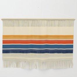 Classic Retro Stripes Wall Hanging