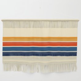 Classic Retro Stripes Wall Hanging