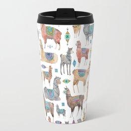 Llamas and Alpacas Travel Mug