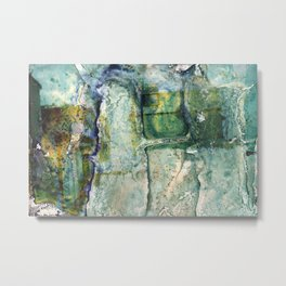Water Damaged Photo No. 6 Metal Print