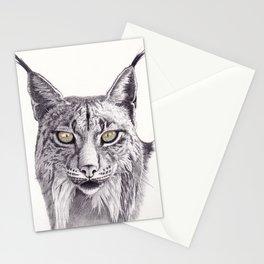 Lince ibérico Stationery Cards