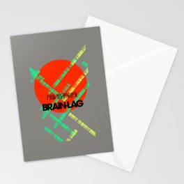 Brain-Lag Stationery Cards