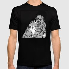 I'm like cat here, a couple of no-name slobs MEDIUM Black Mens Fitted Tee
