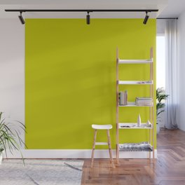Chartreuse Accent Wall Mural
