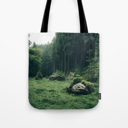 Forest Field - Landscape Photography Tote Bag