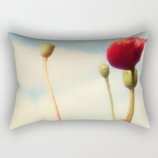 Lost Poppies Rectangular Pillow