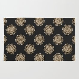 Abstract vintage pattern 3 Rug