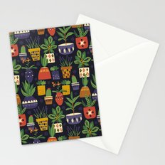 Potted Plants Stationery Cards