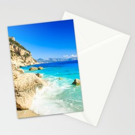 The beautiful Cala Goloritzè in Sardinia Stationery Cards