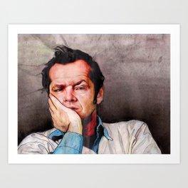 Mr. McMurphy Art Print