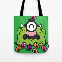 Chameleonster Tote Bag