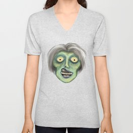 Carl The Zombie Unisex V-Neck
