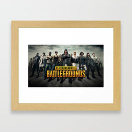 PUBG 9 Framed Art Print
