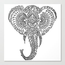 The Elephant Mask Canvas Print