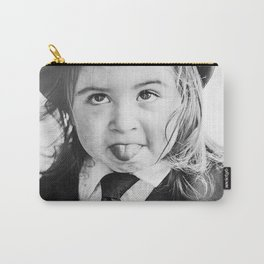 Little Funny Face Carry-All Pouch