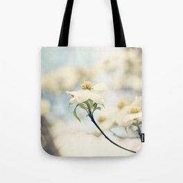 Love, the Dogwood Tote Bag