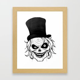 The Hatbox Ghost Framed Art Print