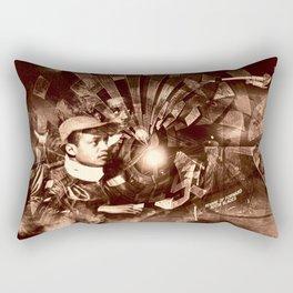 """Tuskegee & Beyond: Remixed 2"" Rectangular Pillow"
