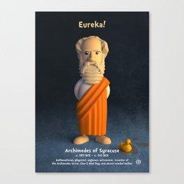 Archimedes of Syracuse - Eureka! Canvas Print