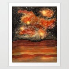 Beautiful Galaxy II Art Print